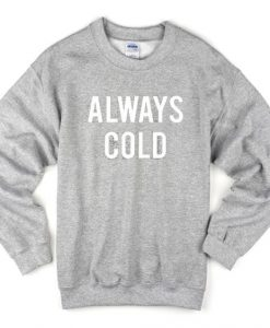 always cold sweatshirt AY22N