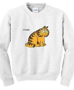 anime garfield sweatshirt AY22N