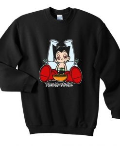 astro boy blazed sweatshirt AY22N