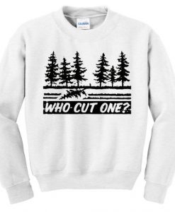 who cut one sweatshirt AY22N