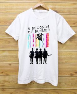 5 Seconds Of Summer Color T-Shirt FD4D