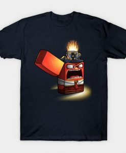 Angry lighter T-Shirt AY27D