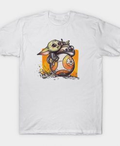 Baby Yoda and BB-8 T-Shirt DL26D