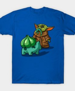 Baby Yoda and Mandalorian t-shirtDL26D