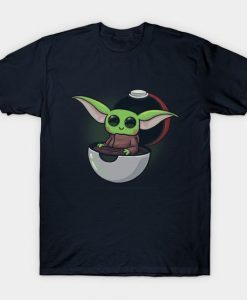 Baby Yoda and Pokemon t-shirt DL26D