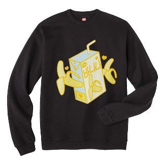 Banana Milk Box Sweatshirt FD4D