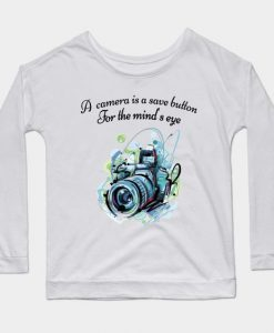 Camera Quote Sweatshirt SR2D