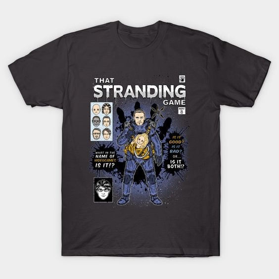 STRANDING GAME T-Shirt HN24D