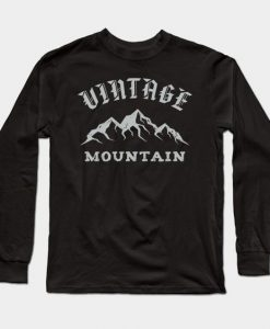 Vintage mountain Sweatshirt SR2D