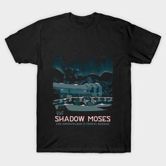 Visit Shadow Moses T Shirt HN24D