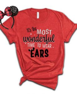 Wonderful Disney Christmas T Shirt SR6D