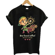 You Found Coffee Tshirt EL3D
