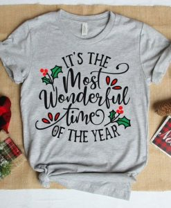 wonderful time of The Year Tshirt Fd4D