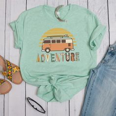 Adventure Cute Tshirt EL14J0