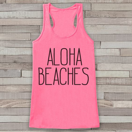 Aloha Beaches TAnk Top DL14J0