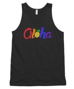Aloha Volleyball Tank Top SR17J0