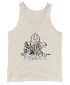 Awesome snow tiger TankTop DL29J0