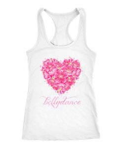 Belly Dance Heart Tank Top ND17J0