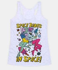 Space Babes In Space tanktop FD23J0