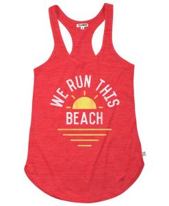 We Run This Beach Tank Top FD13J0