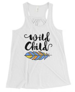 Wild Child Feather Tanktop ND17J0