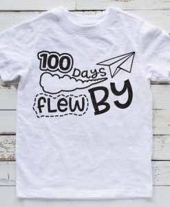 100 Days Flew T-Shirt ND3F0