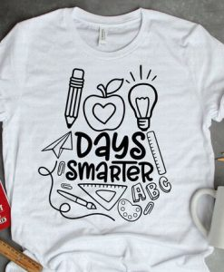 100 Days Smarter T-Shirt ND3F0