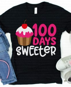 100 Days Sweeter T-Shirt ND3F0