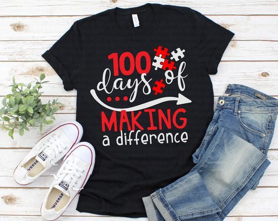 100 Days of Making T-Shirt ND3F0