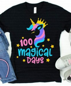 100 Magical Unicorn T-Shirt ND3F0