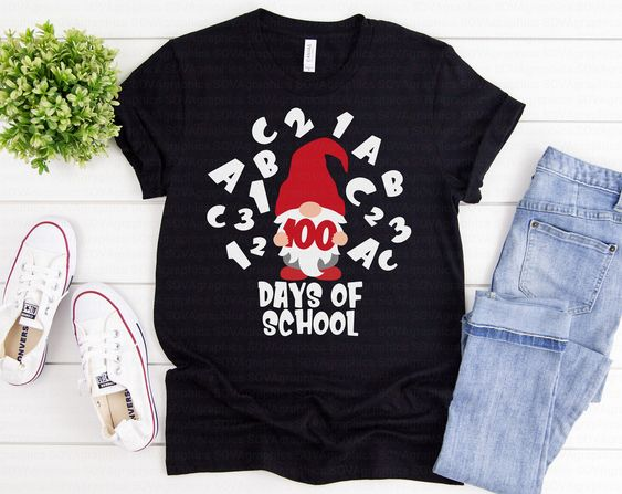 100th Day School T-Shirt ND3F0