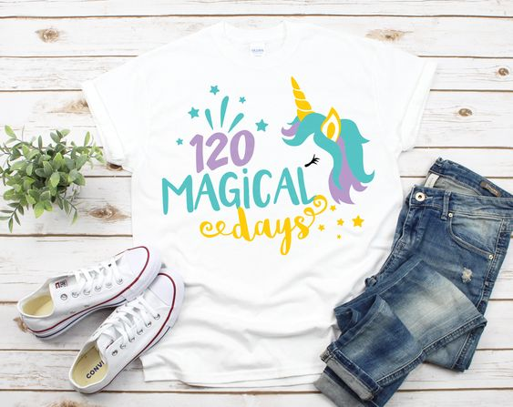 120 Days Magical T-Shirt ND3F0