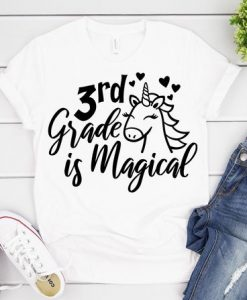 3rd Grade is Magical T-Shirt ND3F0