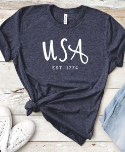 4th of July USA T-Shirt DL06F0