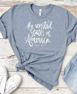 4th of July United States T-Shirt DL06F0