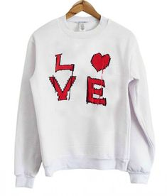 Buy Love Sweatshirt EL6F0