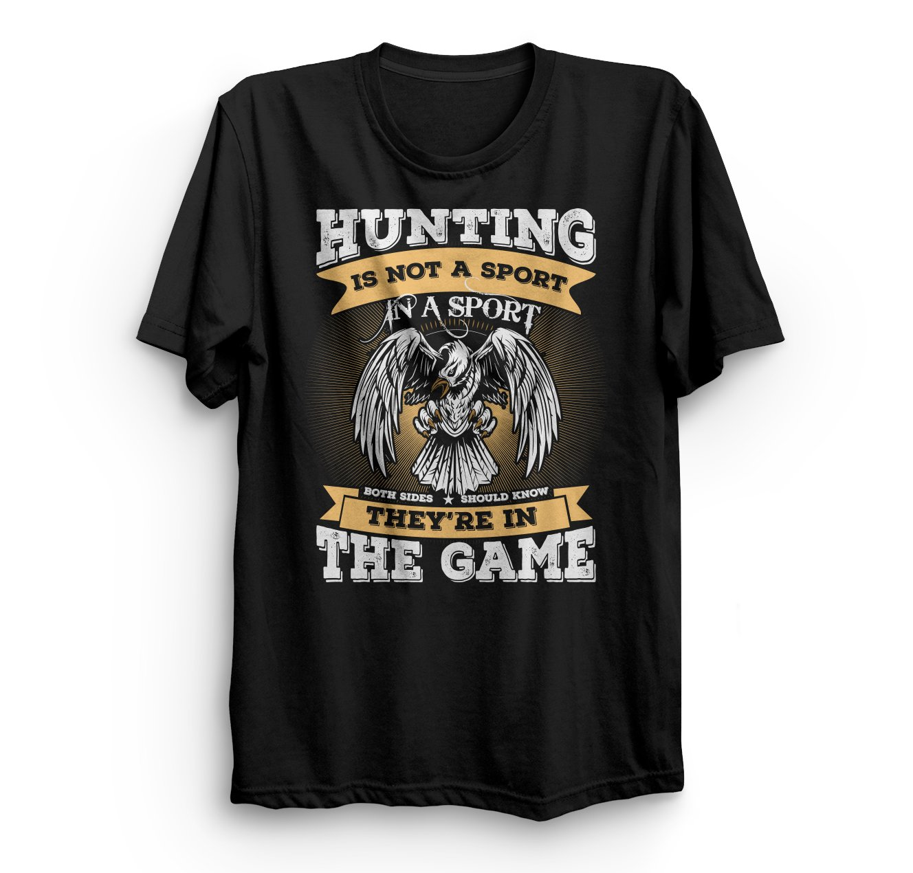 Hunting Is Not A Sport Tshirt LE14M0