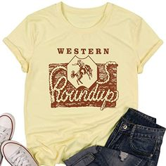 Western Roundup Tshirt LE14M0