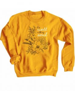Well with my Soul Sweatshirt AN13A0