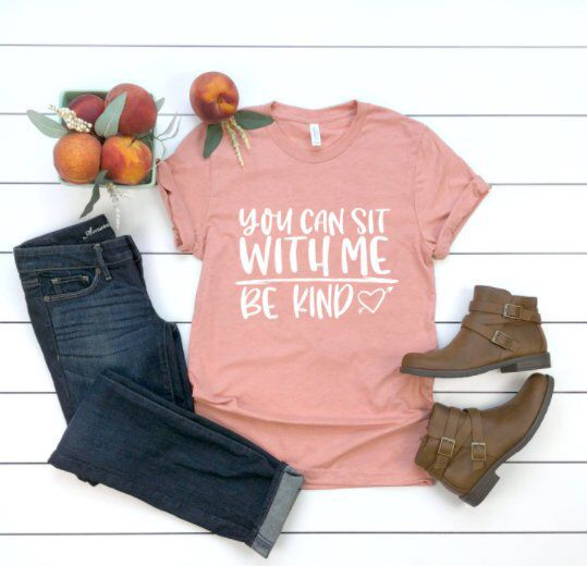 You Can Sit with Me Tshirt DF7JL0