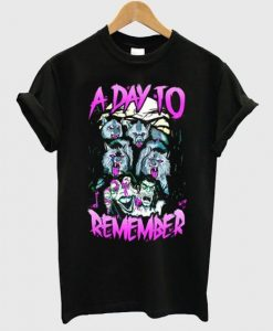 A Day To Remember Wolf Tshirt TU18AG0