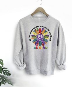 Be kind sweatshirt TK27AG0