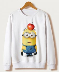 Cartoon Minion Sweatshirt TU7AG0