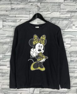 Vintage Minnie Mouse Sweatshirt TU7AG0