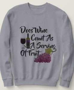 Wine lovers Sweatshirt TK27AG0