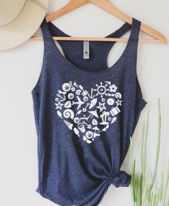 Beach love Tanktop LE5S0