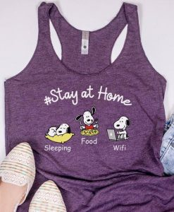 Stay at home Tanktop LE5S0