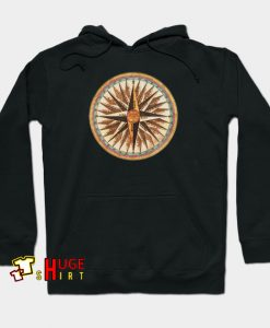 Point Of Compass Vintage Hoodie AL30N0