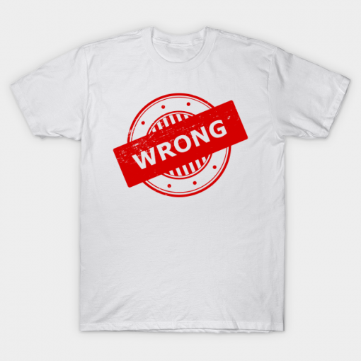 Wrong Stamp T-Shirt AL5N0