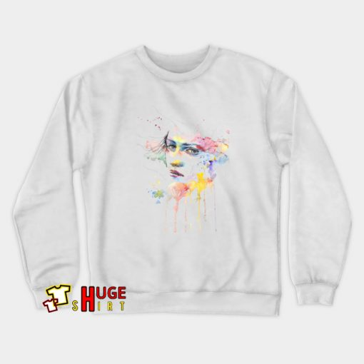 Abstract Paint Female For Gift Sweatshirt AL5D0